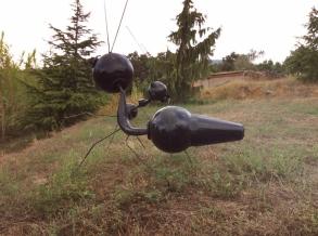 Escultura de José Collado en Jabierans.